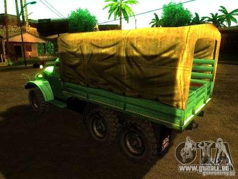 ZIL 157 Truman pour GTA San Andreas vue arrière