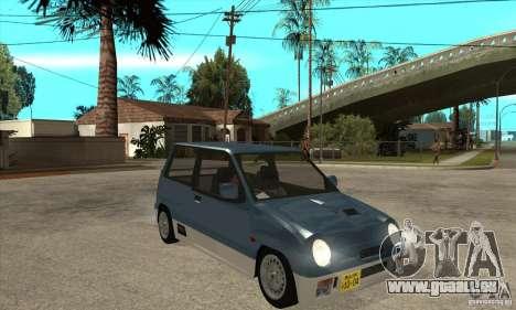 Suzuki Alto Works für GTA San Andreas Rückansicht