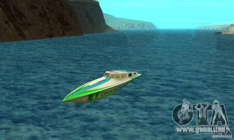 Speed Motorboat pour GTA San Andreas