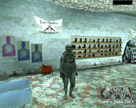 Haut Infanterist CoD MW 2 für GTA San Andreas zweiten Screenshot