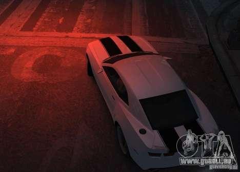 Chevrolet Camaro concept 2007 für GTA 4 Rückansicht