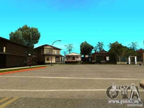 New Grove Street TADO edition pour GTA San Andreas sixième écran