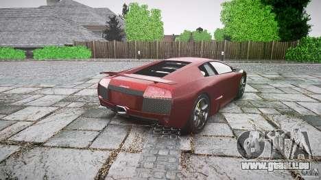 Lamborghini Murcielago v1.0b für GTA 4 hinten links Ansicht