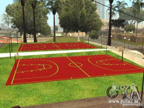 Basketballplatz für GTA San Andreas