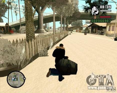 Faire les poubelles pour GTA San Andreas