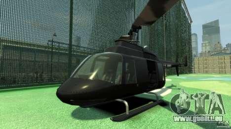 Black U.S. ARMY Helicopter v0.2 für GTA 4 linke Ansicht