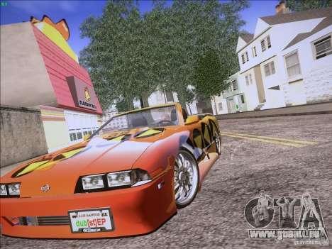 Elegy Cabrio Edition für GTA San Andreas Rückansicht