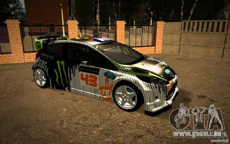 Ford Fiesta Gymkhana Four pour GTA San Andreas