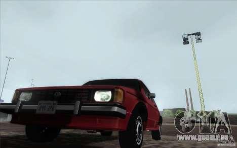 Volkswagen Rabbit 1986 pour GTA San Andreas vue de droite