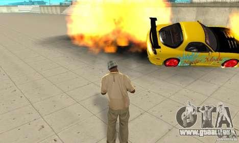 Übernatürliche Fähigkeiten der CJ-ich für GTA San Andreas her Screenshot