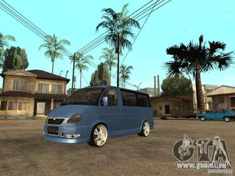 GAZ-2217-Bargusin Zobel für GTA San Andreas