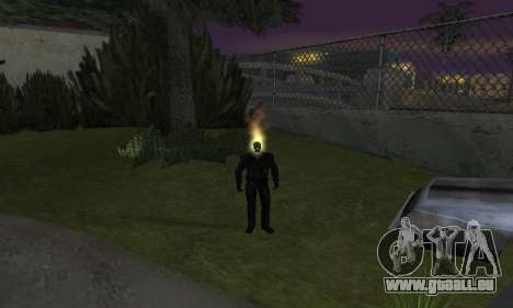 Ghost Rider für GTA San Andreas her Screenshot