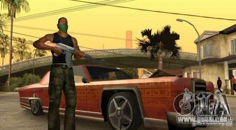Wars Zones pour GTA San Andreas troisième écran