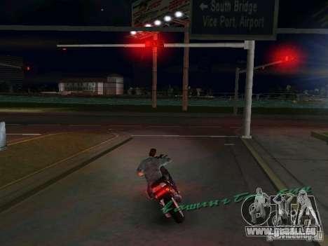 PIAGGIO NRG MC3 pour une vue GTA Vice City de la gauche