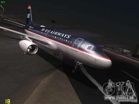 Airbus A319 USAirways für GTA San Andreas
