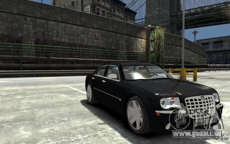 Chrysler 300C pour GTA 4 Vue arrière