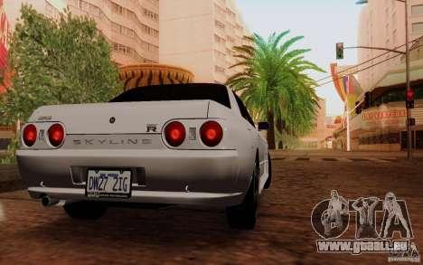 Nissan Skyline GT-R R32 1993 Tunable pour GTA San Andreas vue de droite