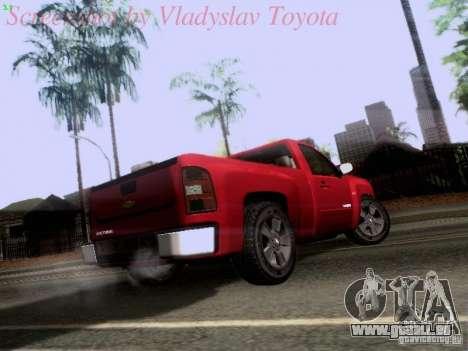 Chevrolet Cheyenne Single Cab für GTA San Andreas rechten Ansicht