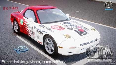 Mazda RX-7 1997 v1.0 [EPM] pour GTA 4