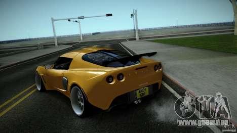 Lotus Exige Track Car pour GTA San Andreas vue de droite