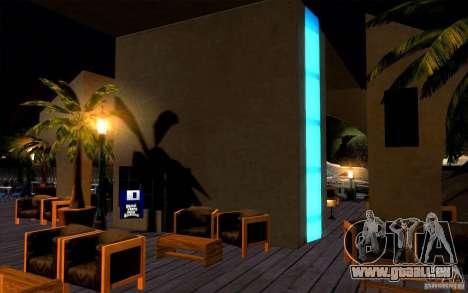 Beach Club pour GTA San Andreas cinquième écran