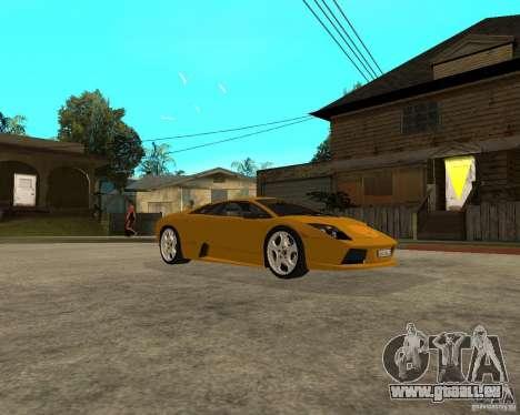 Lamborghini Murcielago pour GTA San Andreas vue de droite
