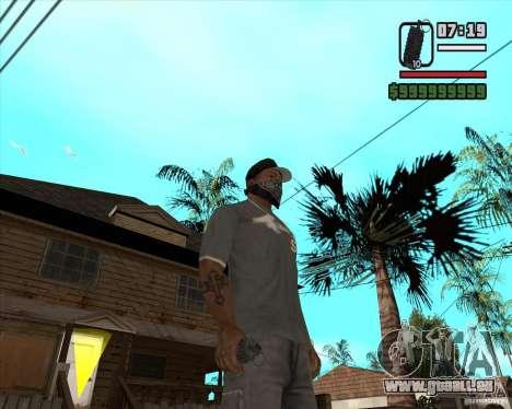 Grenade de Xenus 2 pour GTA San Andreas troisième écran