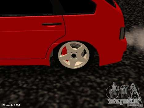 VAZ 2109 Opera Turbo für GTA San Andreas Rückansicht