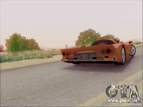 Nissan R390 Road Car v1.0 pour GTA San Andreas vue de côté