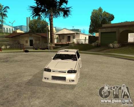 ВАЗ 2114 Mechenny für GTA San Andreas Rückansicht