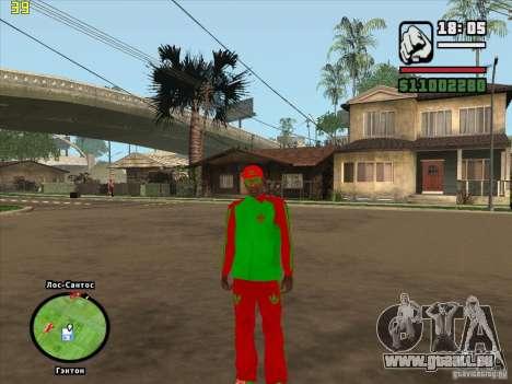 Remplacement complet du magasin Binco Adidas pour GTA San Andreas