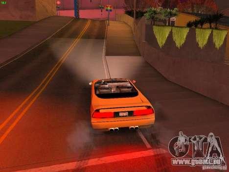 Infernus Revolution pour GTA San Andreas vue de dessus