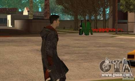 Dante de Devil May Cry pour GTA San Andreas troisième écran