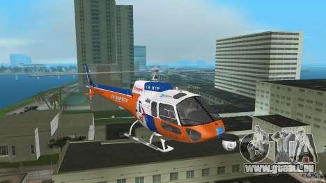 Eurocopter As-350 TV Neptun pour une vue GTA Vice City de la gauche