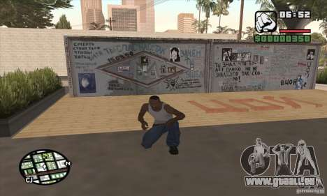 Mur de Tsoi pour GTA San Andreas