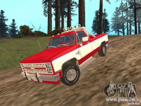 Chevrolet Silverado 2500 pour GTA San Andreas
