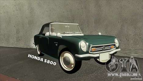 Honda S800 pour GTA San Andreas