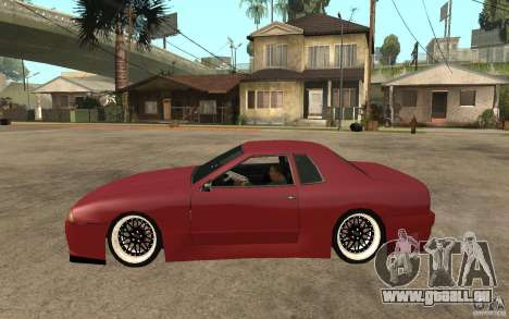 Elegy Modified für GTA San Andreas linke Ansicht