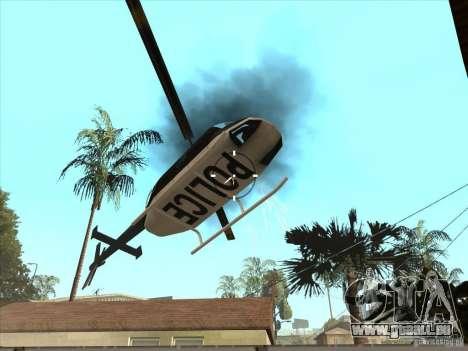 Le script CLEO : mitrailleuse dans GTA San Andre pour GTA San Andreas quatrième écran