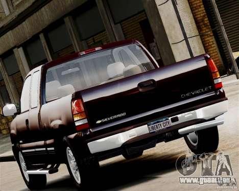 Chevrolet Silverado 1500 2000 pour GTA 4 est une gauche