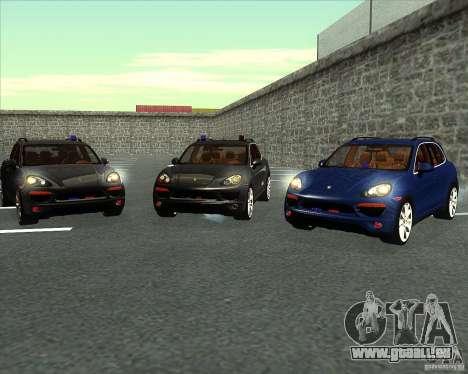 Porsche Cayenne 958 v1.1 pour GTA San Andreas vue de côté