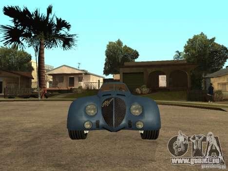 Alfa Romeo 2900B LeMans Speciale 1938 pour GTA San Andreas vue de droite