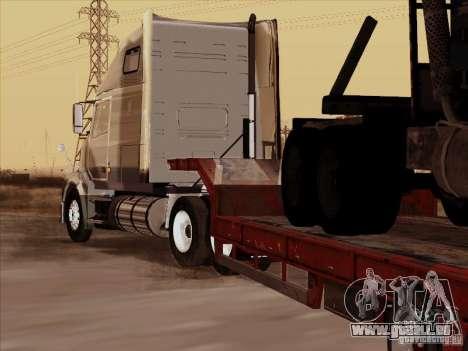 Volvo VNL 670-trailer für GTA San Andreas rechten Ansicht