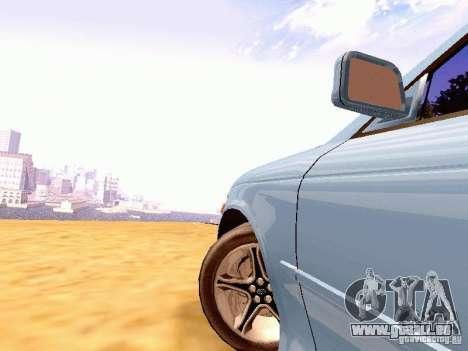Toyota Mark II JZX90 pour GTA San Andreas sur la vue arrière gauche