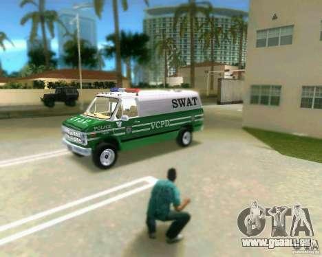 Chevrolet Van G20 pour une vue GTA Vice City de la gauche