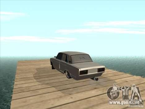 VAZ 2105 leichte Tuning für GTA San Andreas Rückansicht