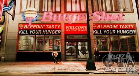 ENB Rage of Reality v 4.0 pour GTA 4 troisième écran