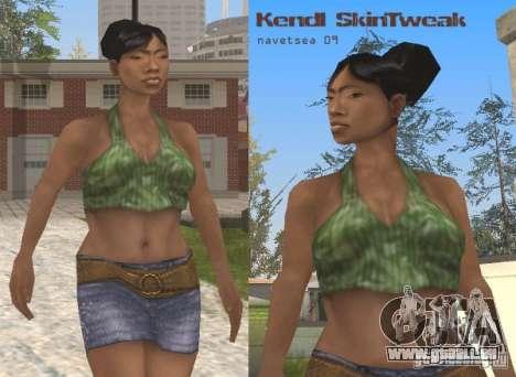 Reteksturizaciâ Zeichen für GTA San Andreas fünften Screenshot