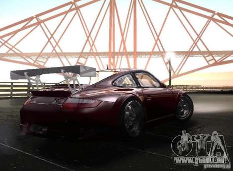 Porsche 911 GT3 RSR RWB für GTA San Andreas rechten Ansicht