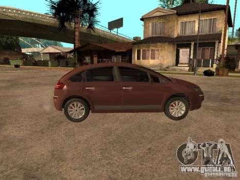 Citroen C4 für GTA San Andreas rechten Ansicht